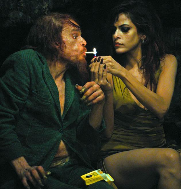 Holy Motors Denis Lavant Eva Mendes: Leos Carax hallucinatory surprise double nominee