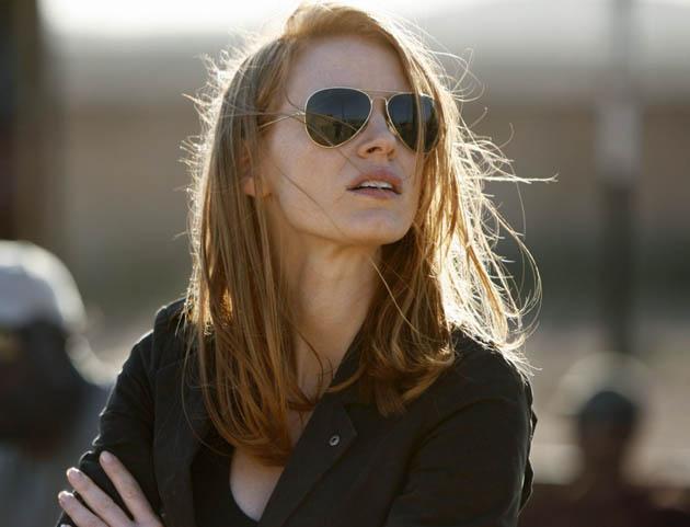 Jessica Chastain Zero Dark Thirty. Best Actress front-runner this awards season