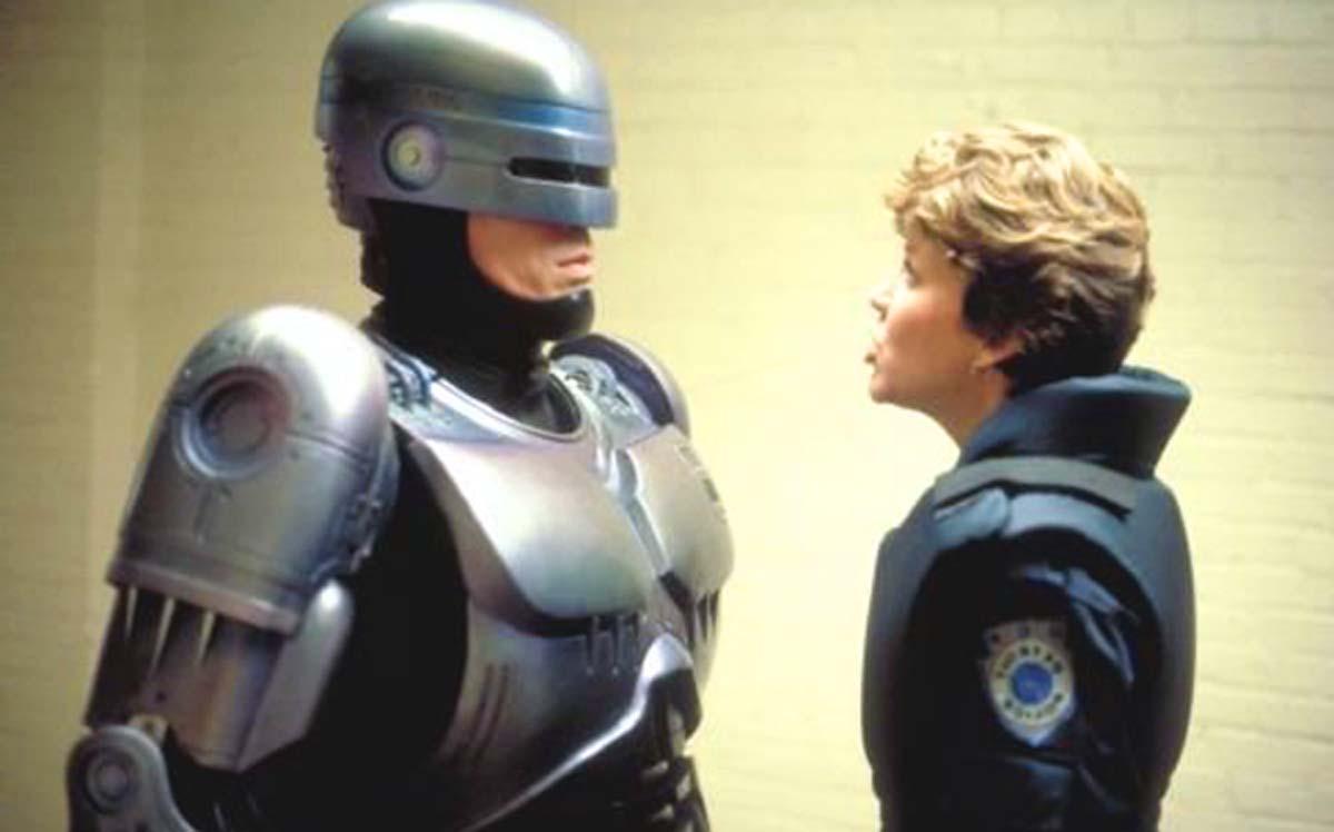 RoboCop 1987 Nancy Allen Peter Weller