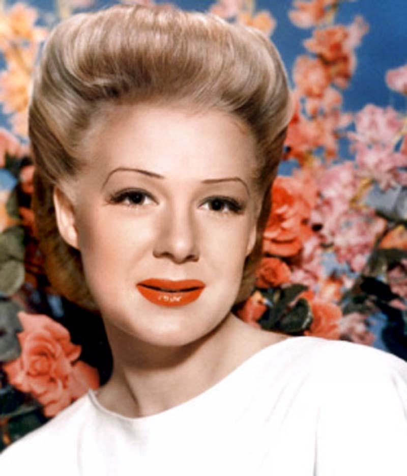 Betty Hutton bio