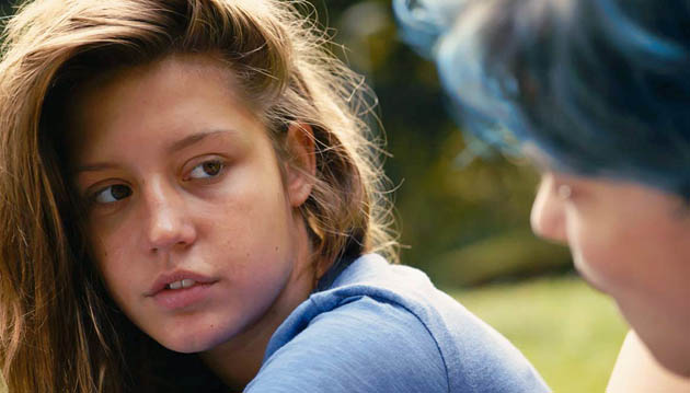 Adèle Exarchopoulos Blue Is the Warmest Color: 2 LAFCA awards despite lesbian sex controversy