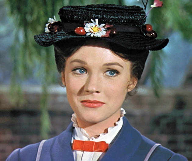 Mary Poppins Julie Andrews: National Film Registry well-timed Walt Disney gift