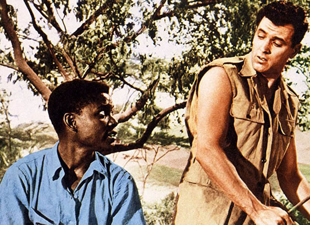Something of Value Rock Hudson Sidney Poitier: European colonialism movie different approach