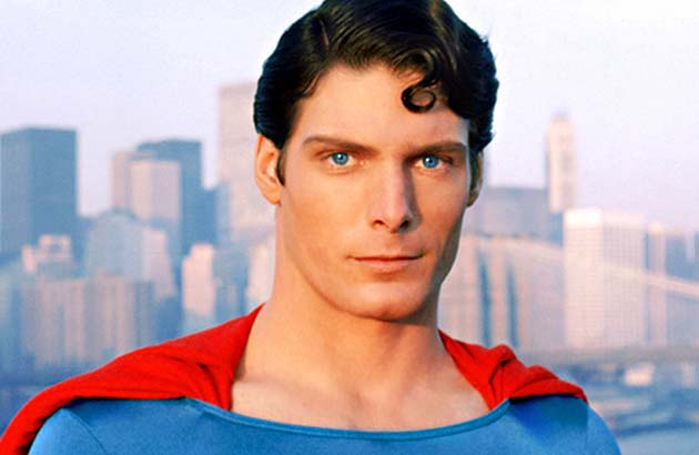 Christopher Reeve Superman first superhero blockbuster