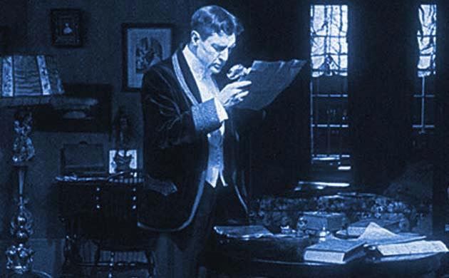 Sherlock Holmes movie William Gillette