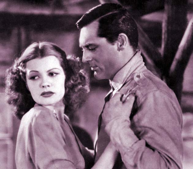 Cary Grant Only Angels Have Wings Rita Hayworth Miscast Macho role