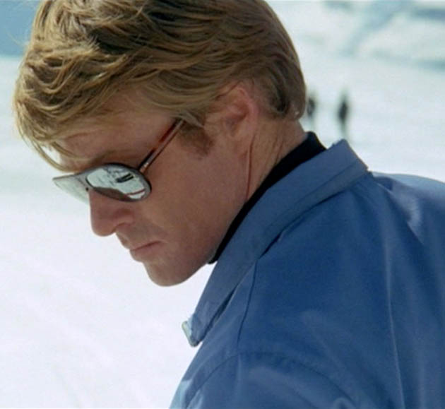 Robert Redford Young Downhill Racer