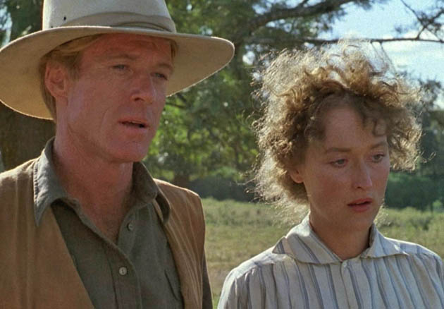 Robert Redford Out of Africa Meryl Streep