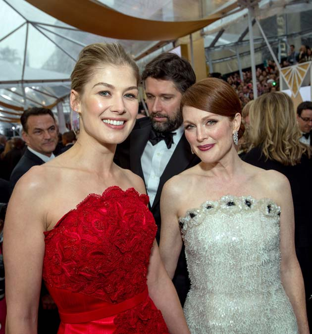 Julianne Moore Rosamund Pike
