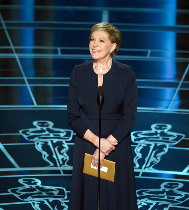 Julie Andrews Oscar 2015