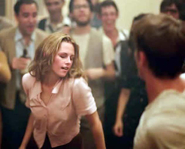 Kristen Stewart On the Road dancing