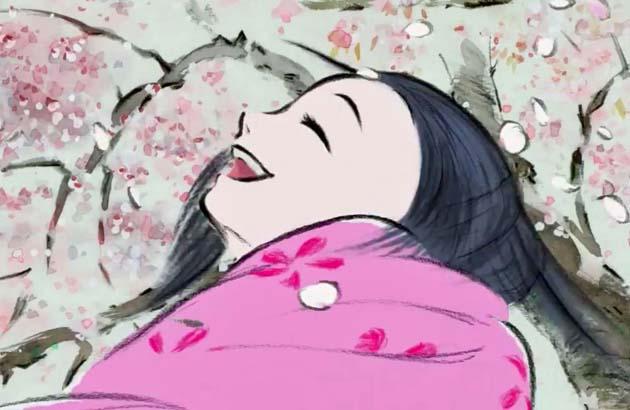 The Tale of the Princess Kaguya Isao Takahata animated film