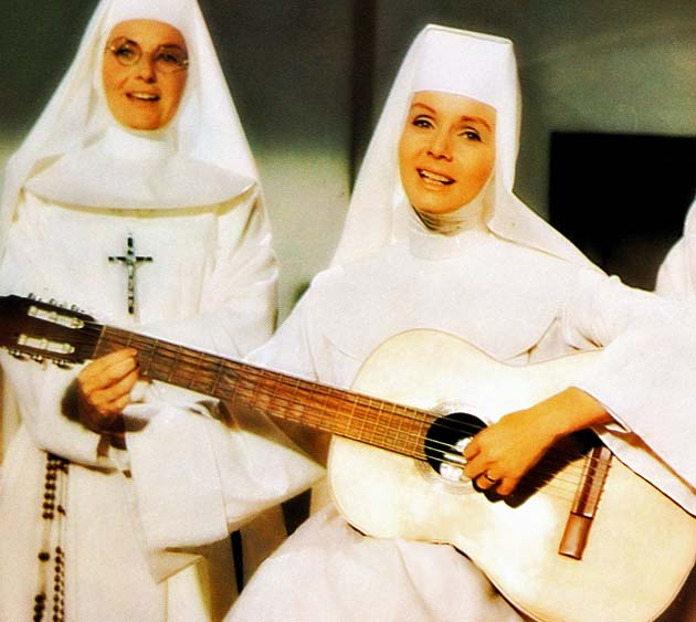Debbie Reynolds The Singing Nun: Any similarity to Sister Luc-Gabrielle is a mere coincidence