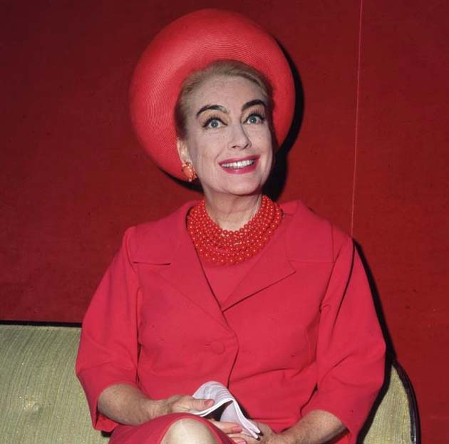 Joan Crawford The Woman in Red