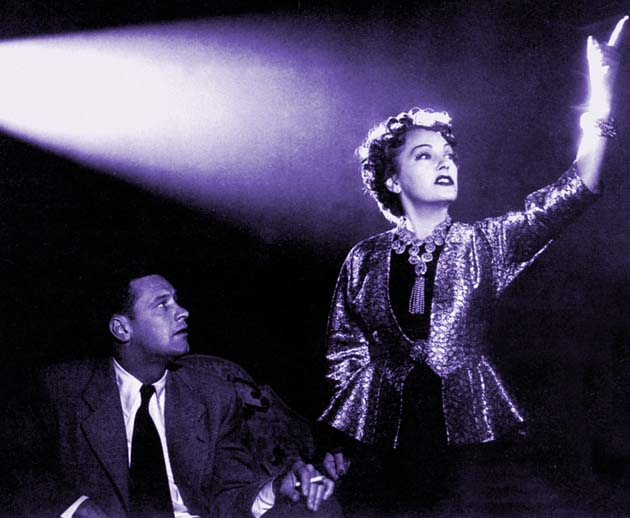 Billy Wilder Sunset Blvd with Gloria Swanson William Holden