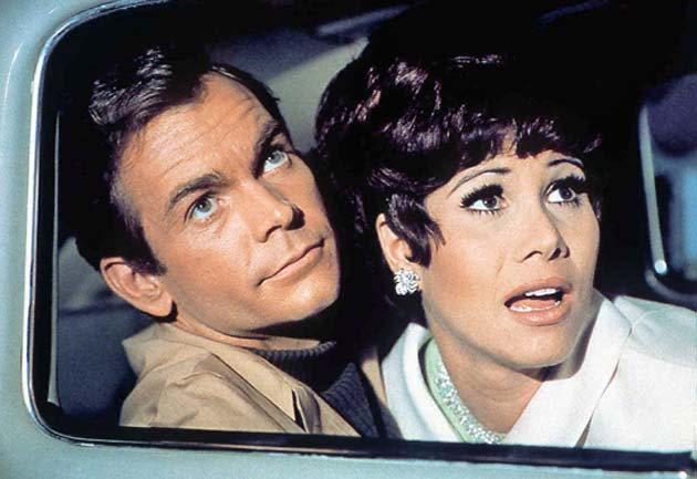 Dean Jones The Love Bug with Michelle Lee in Disney blockbuster