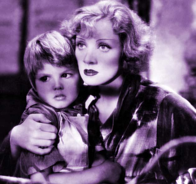 Dickie Moore child actor Marlene Dietrich Blonde Venus