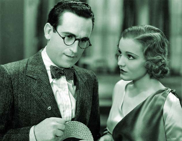 Movie Crazy Harold Lloyd Constance Cummings Columbia player had to raise her voice to get role