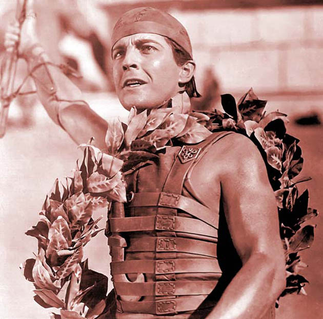 Ben-Hur movie Ramon Novarro Chariot Race winner most exhilarating sequences ever filmed