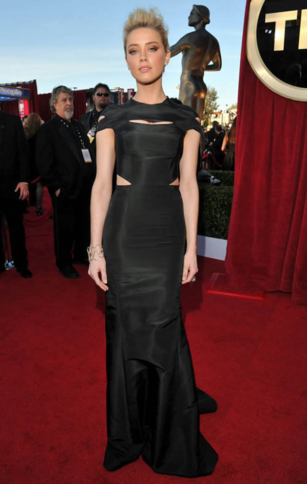 Amber Heard SAG Awards