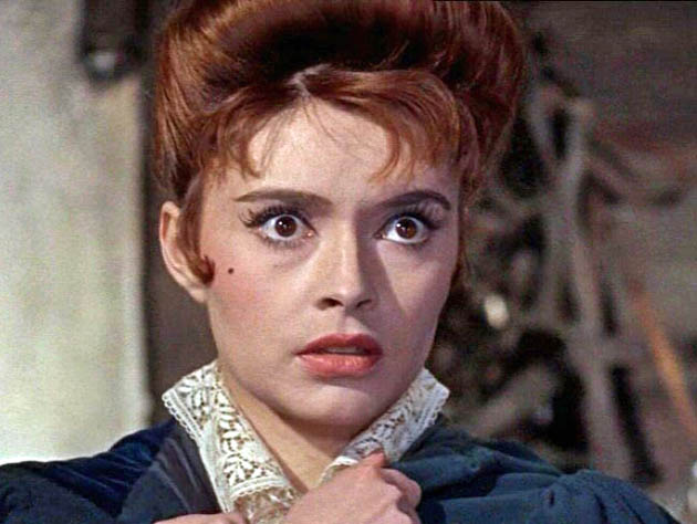 Yvonne Monlaur The Brides of Dracula: France's latest sex kitten after the likes of Brigitte Bardot