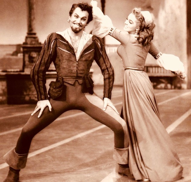 Howard Keel Kiss Me Kate Kathryn Grayson: MGM musicals go totally meta