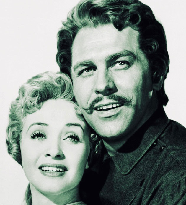 Howard Keel Seven Brides for Seven Brothers Jane Powell: Height of career