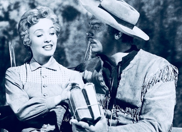 Seven Brides for Seven Brothers 1954 Jane Powell Howard Keel: Height of career