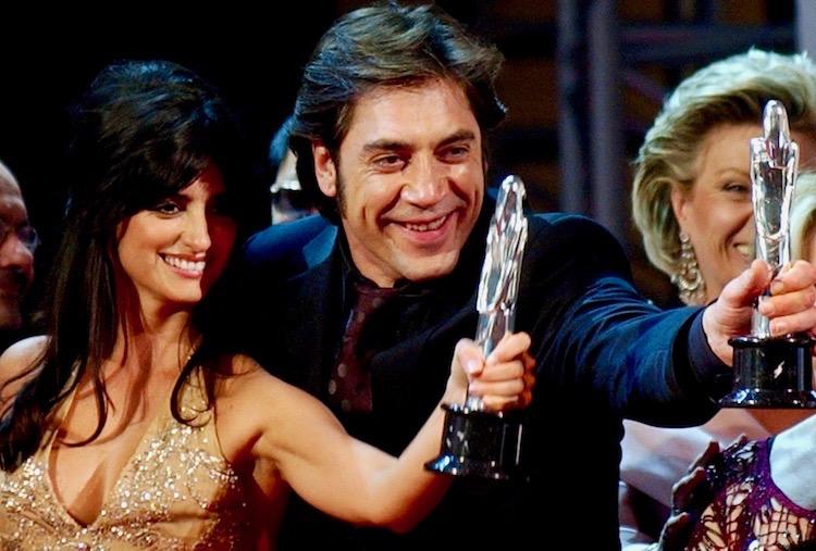 Javier Bardem and Penélope Cruz European Film Awards