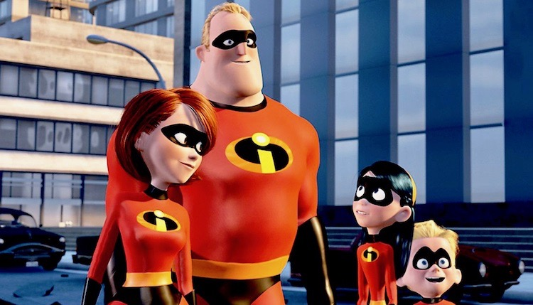Animated Pixar hit The Incredibles