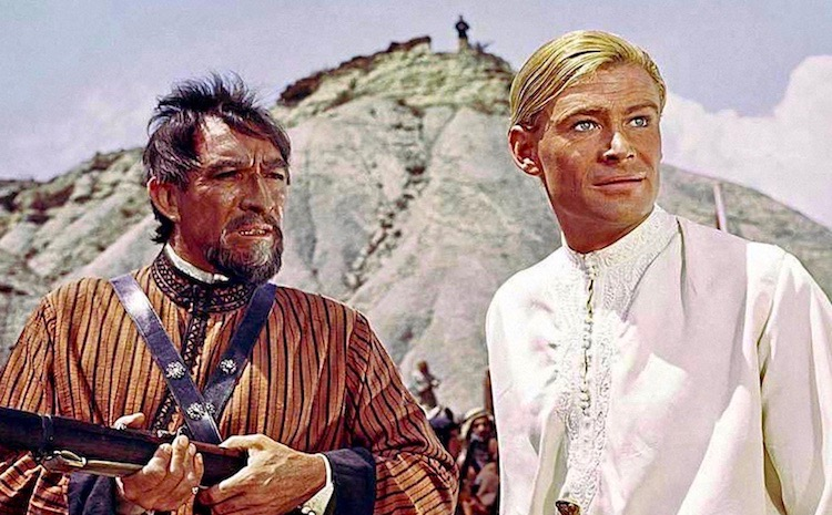 Lawrence of Arabia Peter O'Toole Anthony Quinn