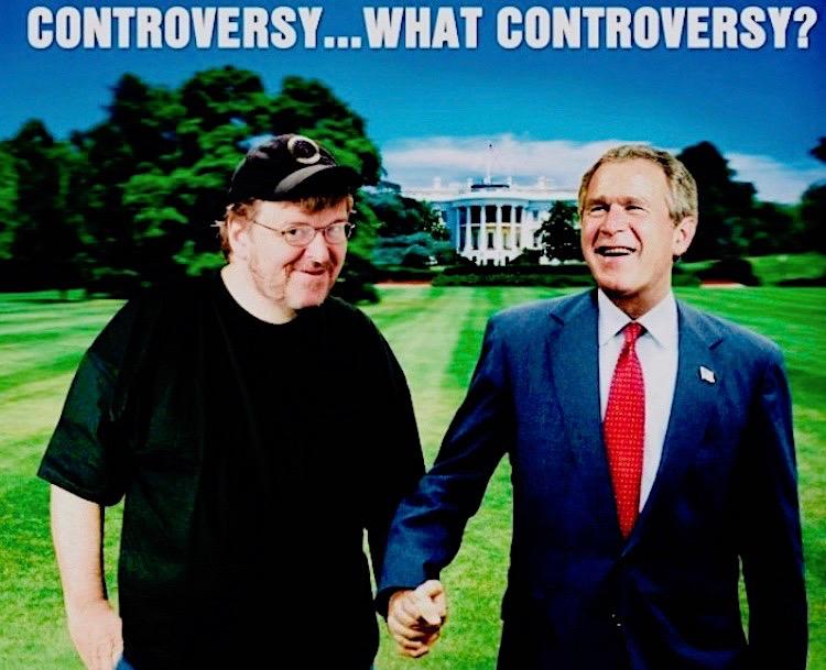 Fahrenheit 9/11 movie Michael Moore George W. Bush