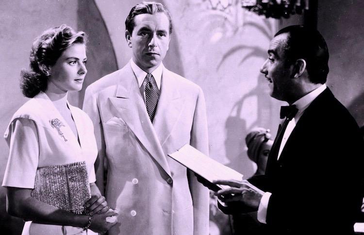 Casablanca Paul Henreid Ingrid Bergman