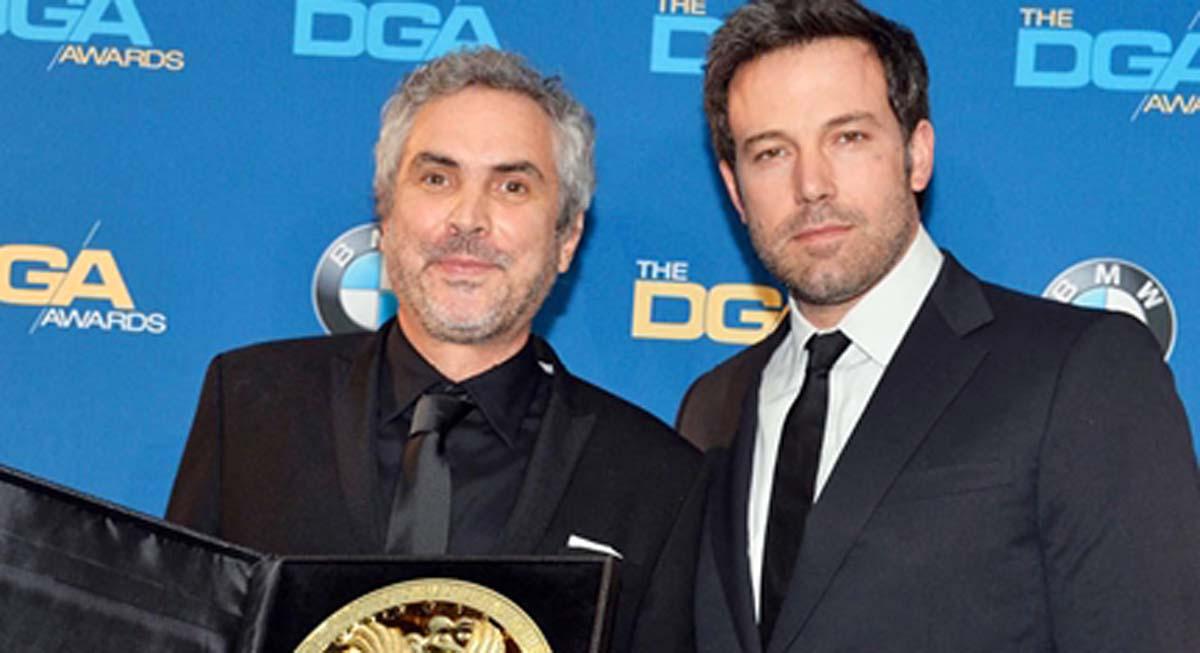 Alfonso Cuaron DGA Award Ben Affleck