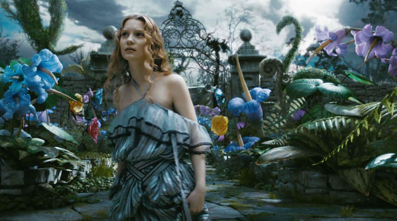 Mia Wasikowska Alice in Wonderland Tim Burton