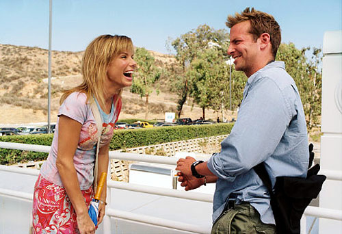 Sandra Bullock, Bradley Cooper in All About Steve