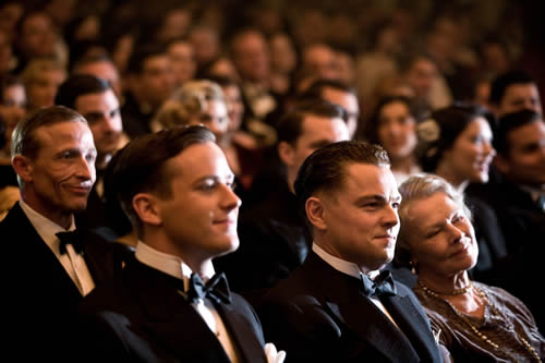Armie Hammer, Leonardo DiCaprio, Judi Dench, J. Edgar Hoover
