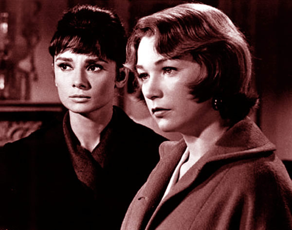 Audrey Hepburn The Children's Hour Shirley MacLaine
