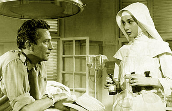 Audrey Hepburn The Nun's Story Peter Finch