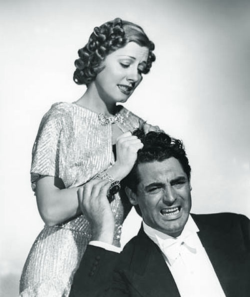 Irene Dunne, Cary Grant in The Awful Truth