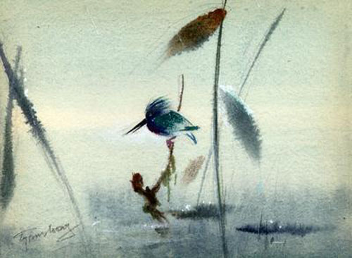 Bambi watercolor Tyrus Wong