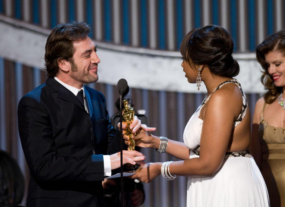 Javier Bardem, Jennifer Hudson - Oscar 2008