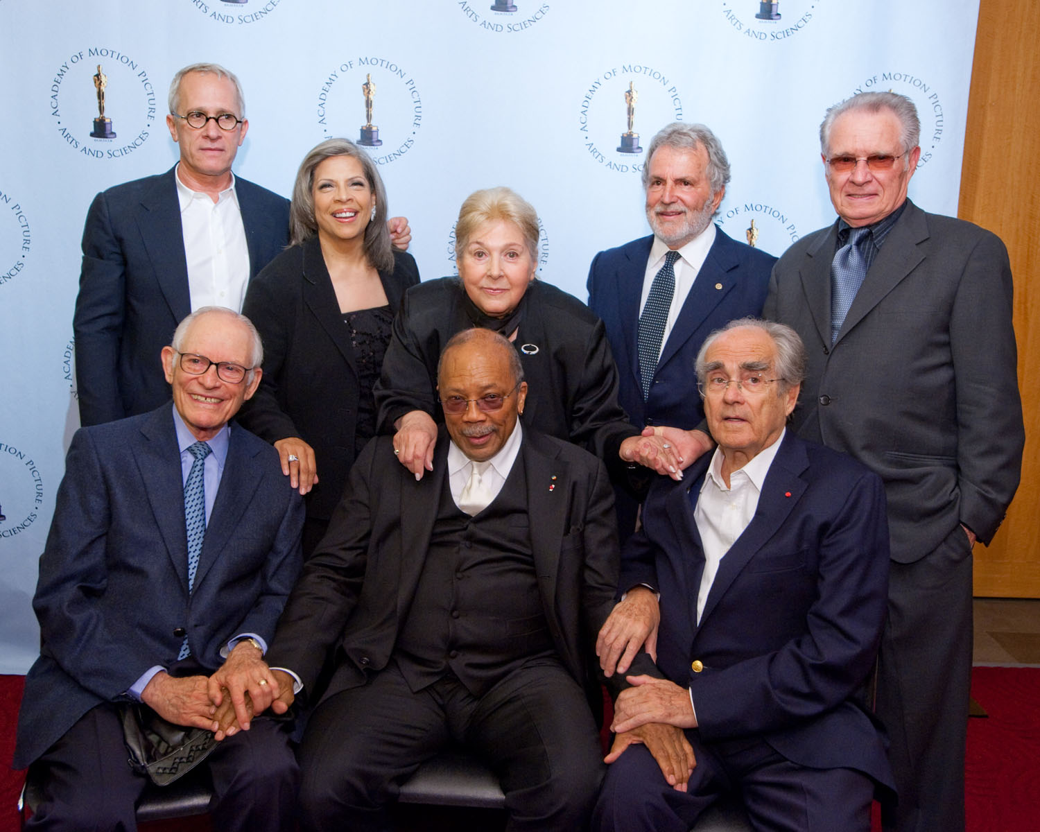 Alan Bergman, Patti Austin, Marilyn Bergman, Quincy Jones, Michel Legrand