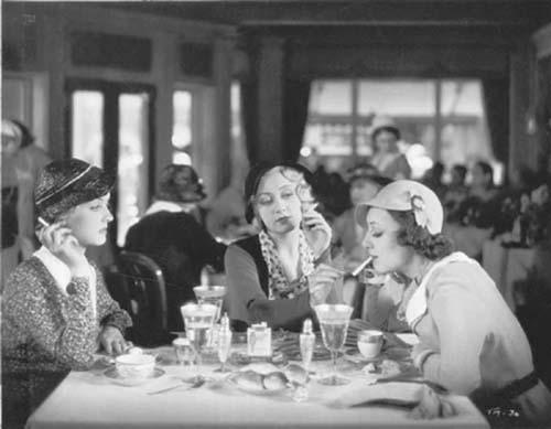 Bette Davis, Joan Blondell, Ann Dvorak, Three on a Match