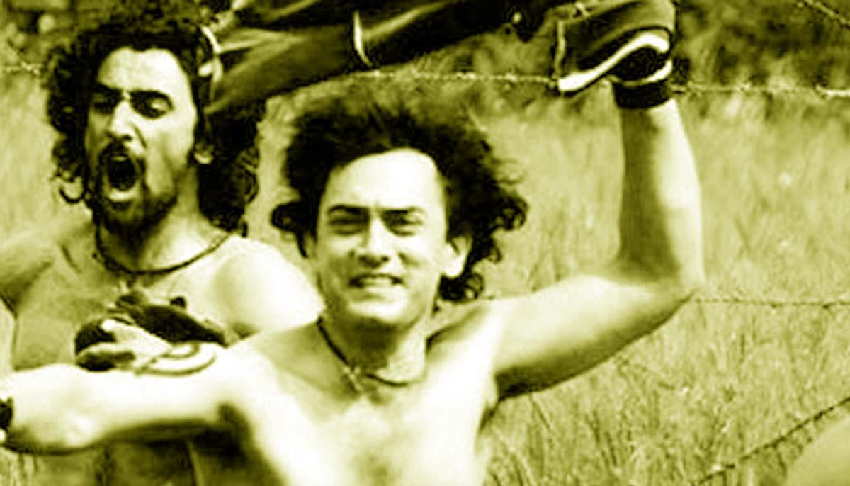Bollywood movie Rang De Basanti Aamir Khan