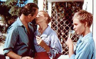 Bonjour Tristesse (1958) directed by Otto Preminger, starring Deborah Kerr, David Niven, Jean Seberg