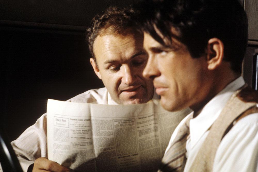 Gene Hackman Bonnie and Clyde Warren Beatty