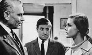 Bunny Lake Is Missing (1965) directed by Otto Preminger, starring Carol Lynley, Keir Dullea, Laurence Olivier