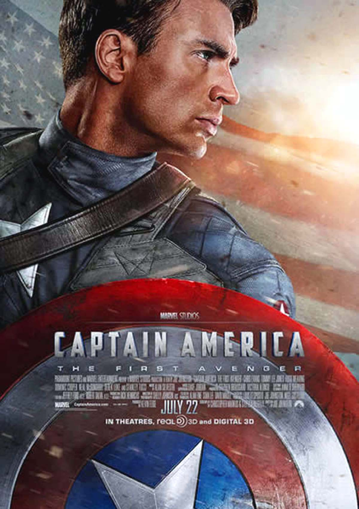 Captain America poster Chris Evans new