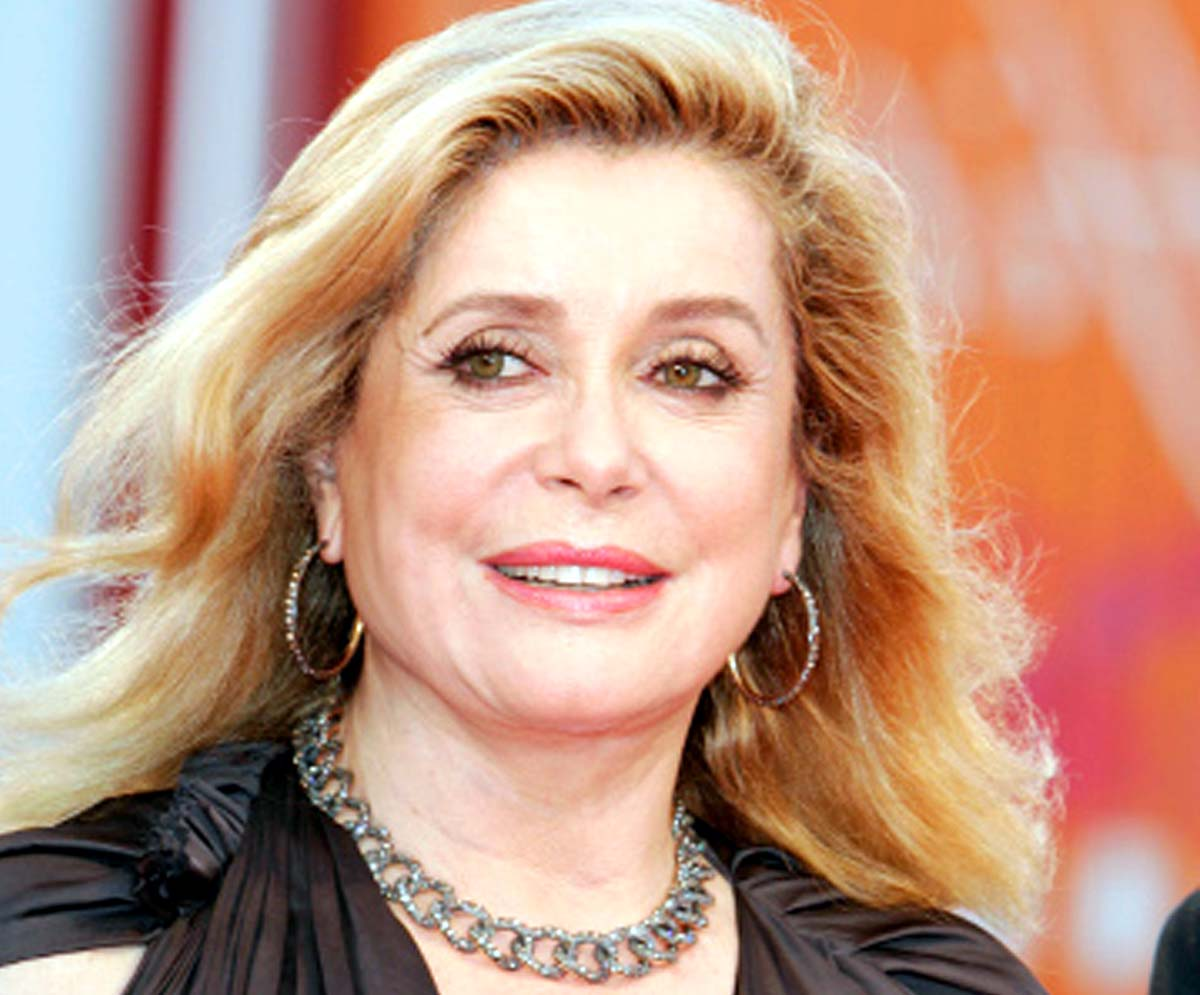 Catherine Deneuve European Film Awards